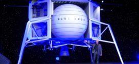Jeff Bezos apresenta ao mundo sua nave lunar