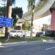Carro para na pilastra de viaduto em acidente na Vila Santa Cecília