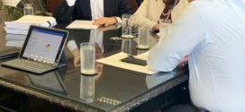 Fernando Jordão oficializa pedidos ao ministro da Infraestrutura