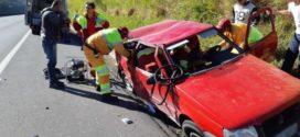 Família vítima de acidente está internada em hospital de Resende