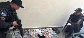 PM prende quatro suspeitos de tráfico no Santo Agostinho
