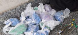 Traficante foge e abandona mochila com drogas