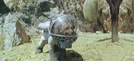 O cachorro cosmonauta no planeta Marte