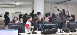 Alunos do quinto ano do  Instituto Radeane visitam o DIÁRIO DO VALE
