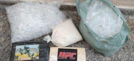 Polícia Militar apreende 4kg de cocaína no Santa Cruz
