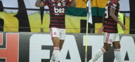 Flamengo vence o Ceará e assume a liderança