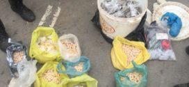 Após confronto, PM faz grande apreensão de drogas em Volta Redonda