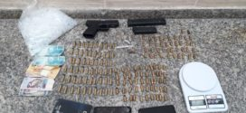 Polícia Militar prende suspeito com pistola e munições no Jardim Normandia
