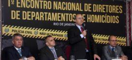 Governador participa da abertura de encontro com diretores de Departamentos de Homicídios