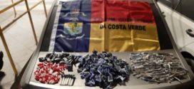 Traficantes abandonam  drogas em Angra dos Reis