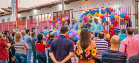 Ailton Marques entrega obras de revitalização da Unidade SF do Novo Horizonte