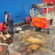 Carrinho de pipoca pega fogo na Vila Santa Cecília