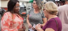 Vereadora colhe depoimentos sobre prevenção do câncer de mama