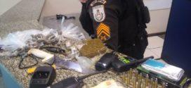 Homem é preso com droga e  munições em Barra Mansa