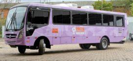 Resende recebe nesta terça-feira 'Ônibus Lilás' no Calçadão