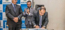 Rodrigo Drable participa de posse do novo secretário estadual de Infraestrutura