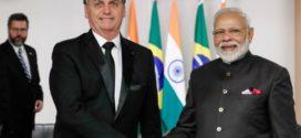 Bolsonaro se reúne com líderes da China e Índia