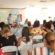 Volta Redonda sedia Caravana da Mulher Democrata