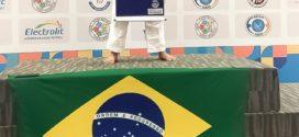 Aluna de escola municipal de Resende é medalha de ouro no Pan-Americano sub-13 de Judô