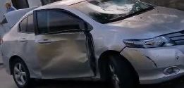 Homem fica ferido e tem seu carro depredado no Jardim Amália