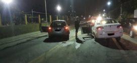 Acidente provoca engarrafamento na Via Sérgio Braga