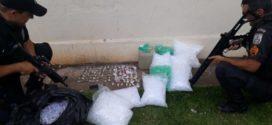 Suspeito é preso no Ingá 2 com farto material entorpecente