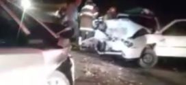 Mulher morre e família  fica ferida em acidente
