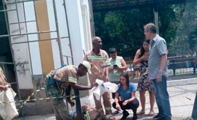 Funcionário da prefeitura cai de andaime em Barra Mansa - Diario do Vale