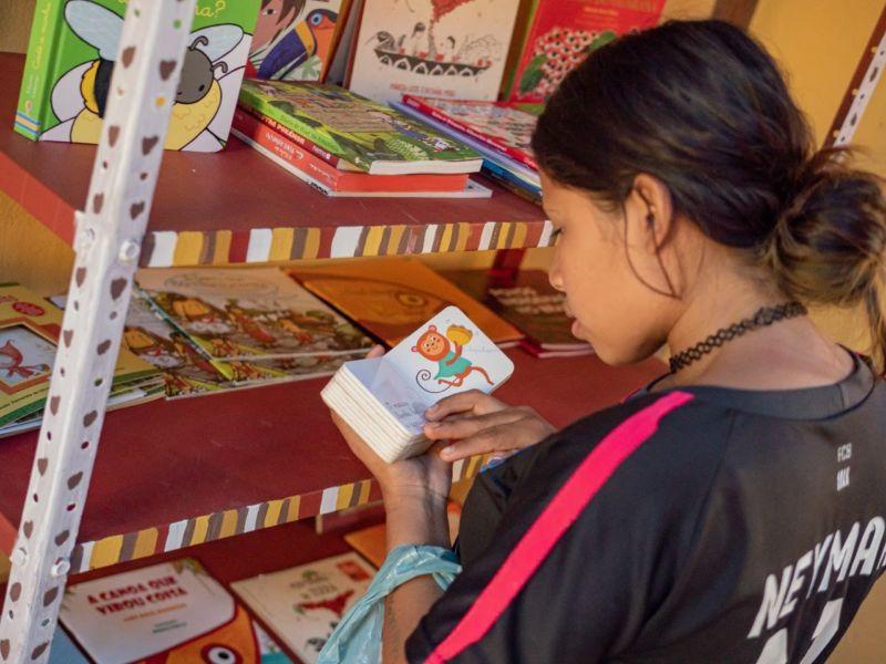 Paraty ganha a primeira Biblioteca Comunitária indígena do Estado - Diario do Vale