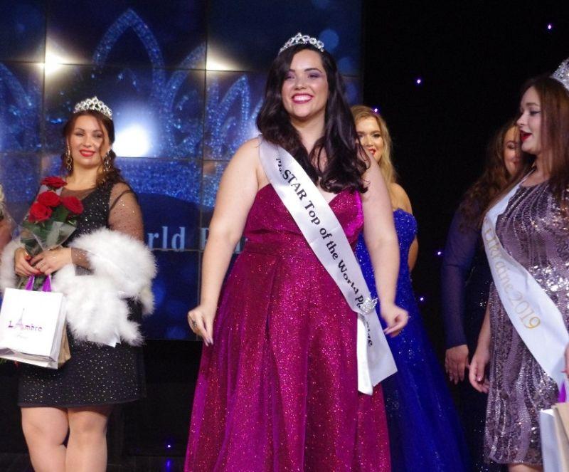 Miss Brasil Plus Size de Volta Redonda vence mundial de beleza na Ucrânia - Diario do Vale