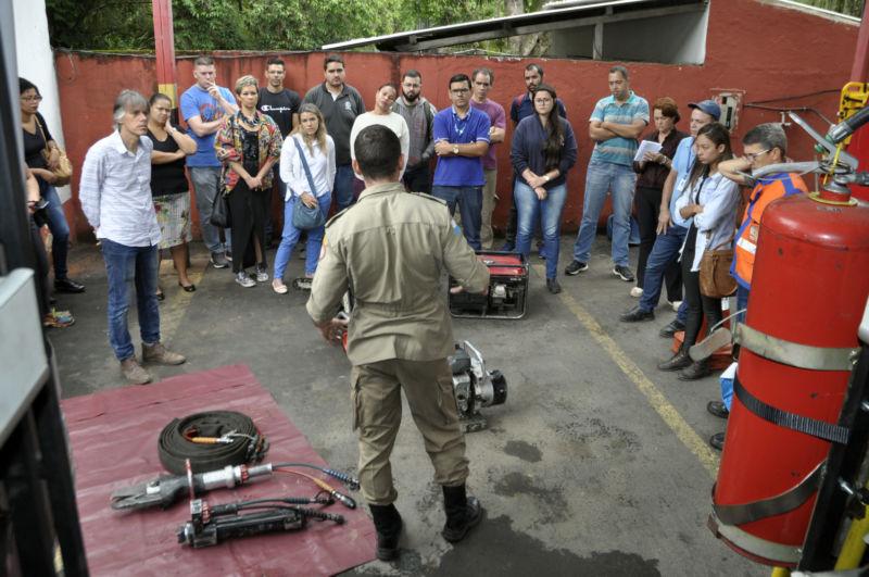 Defesa Civil capacita servidores para brigada de incêndio em Barra Mansa - Diario do Vale