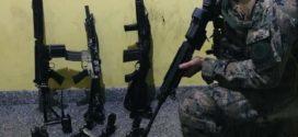 BOPE apreende três fuzis durante confronto no Frade