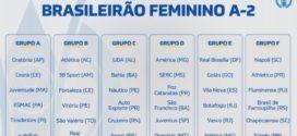 CBF divulga clubes que disputarão Brasileiro Feminino