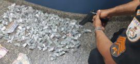 Cinco suspeitos de tráfico são presos em Volta Redonda