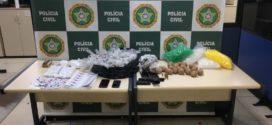 Polícia Civil prende dois suspeitos de tráfico de drogas no bairro Nova Primavera