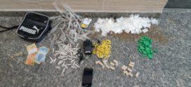 Suspeito de tráfico de drogas é preso no bairro Água Limpa