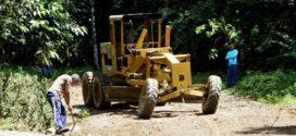 Estradas da zona rural passam por manutenção em Resende