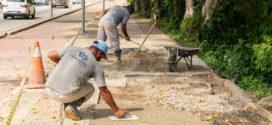 Prefeitura inicia recomposição do asfalto em seis ruas do bairro Retiro