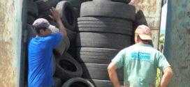 Quatis tem programa especial para recolhimento de pneus