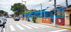 Resende revitaliza faixas de pedestres nas imediações de unidades de ensino