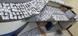 Jovem é preso com 1,1 mil pinos de cocaína que seriam vendidos no Carnaval