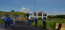 Obras de recapeamento asfáltico são intensificadas em Porto Real
