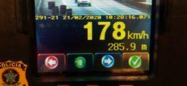 PRF flagra veículos em excesso de velocidade na Dutra