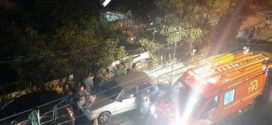 Casal fica ferido após carro cair de barranco em Barra Mansa