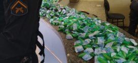 PM apreende mais de três quilos de cocaína em Itatiaia