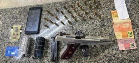 PM apreende granadas, pistola 9mm e tablete de maconha em Volta Redonda