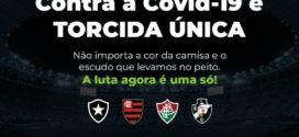 Clubes do Rio se unem em campanha de responsabilidade social para apoiar o combate ao novo coronavírus