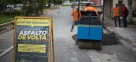 Operação tapa buraco e serviços de manutenção continuam em Volta Redonda