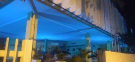 Câmara azul em Volta Redonda