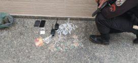 Suspeitos de tráfico de drogas são presos em Volta Redonda